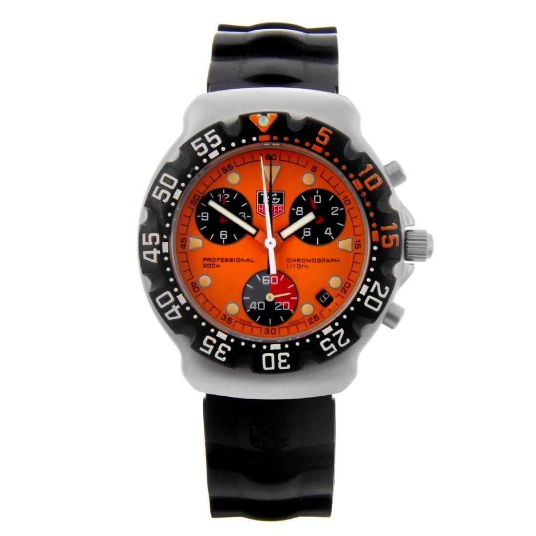 TAG HEUER - a gentleman's Formula 1 chronograph wrist