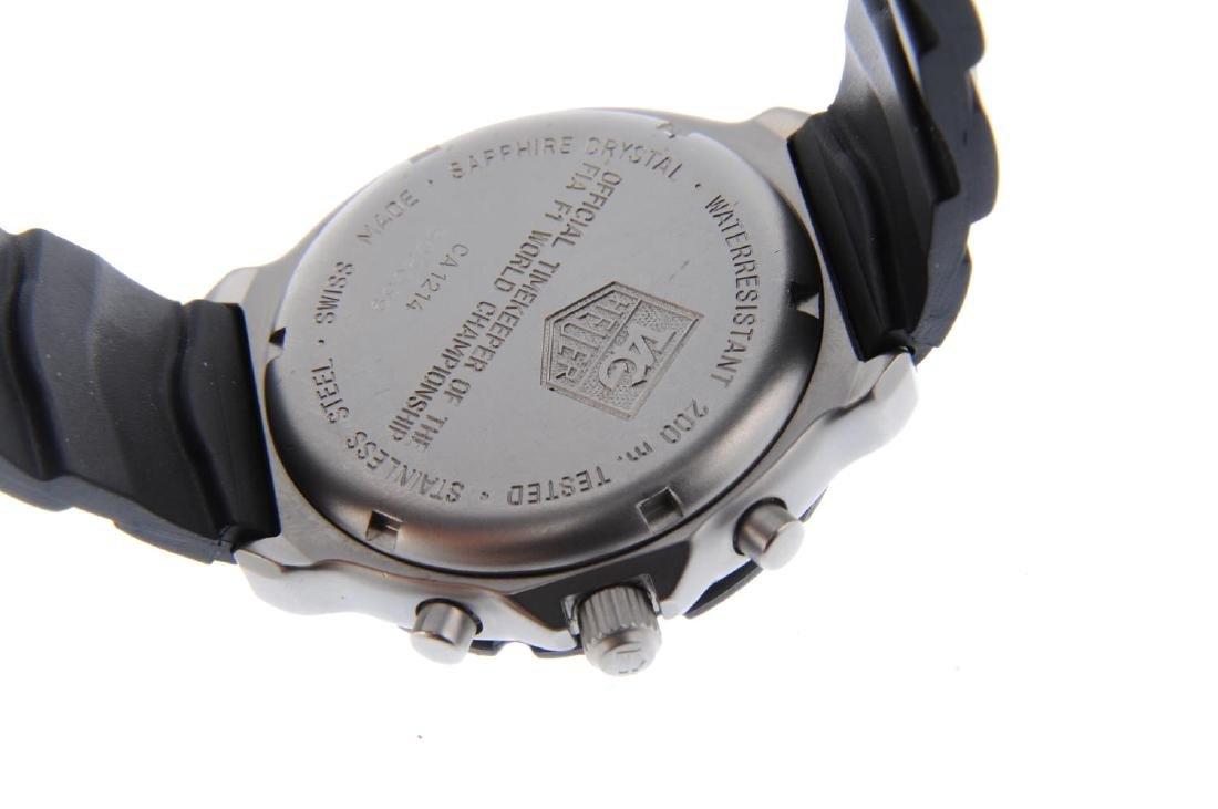 TAG HEUER - a gentleman's Formula 1 chronograph wrist - 3