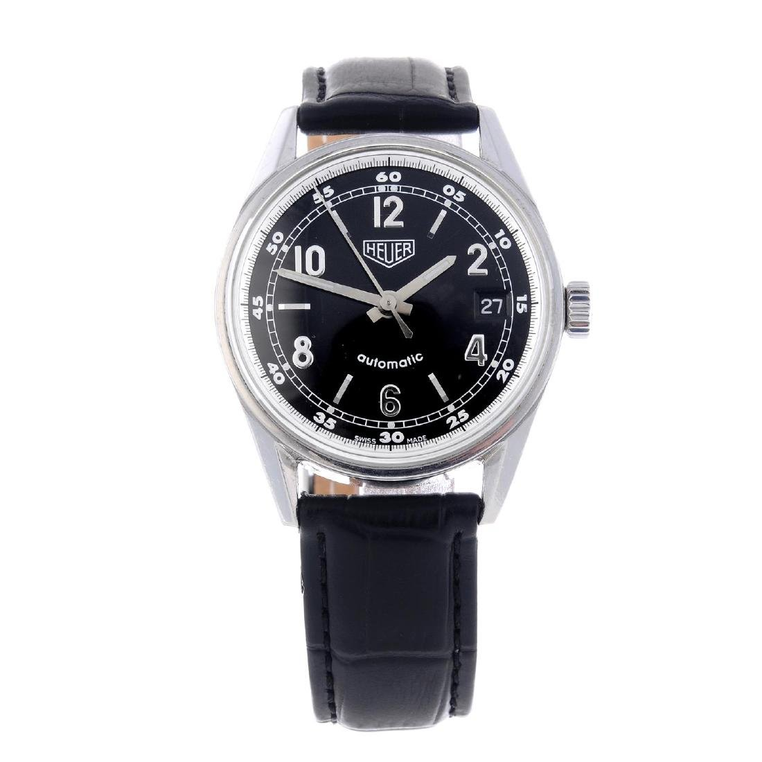 TAG HEUER - a gentleman's Carrera Re-Edition wrist