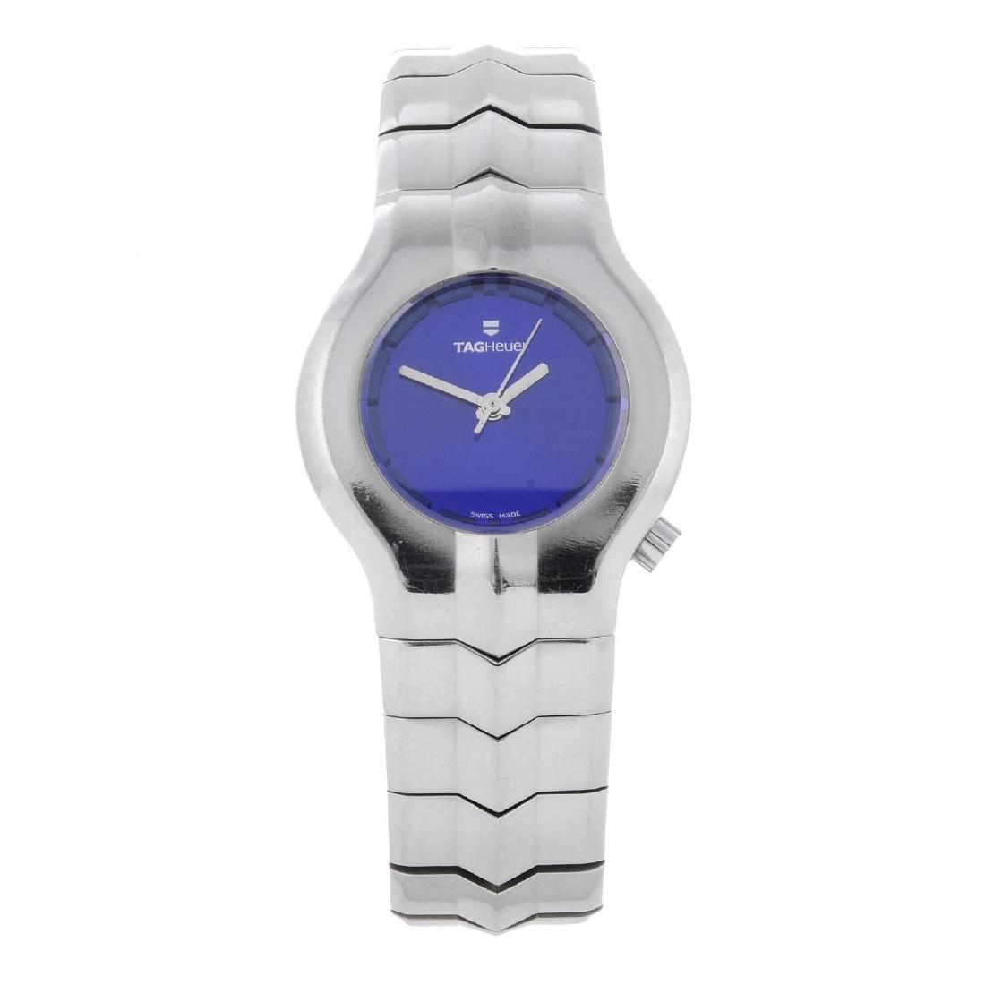 TAG HEUER - a lady's Alter Ego bracelet watch.