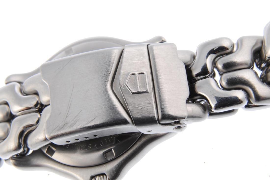 TAG HEUER - a gentleman's S/el bracelet watch. - 2