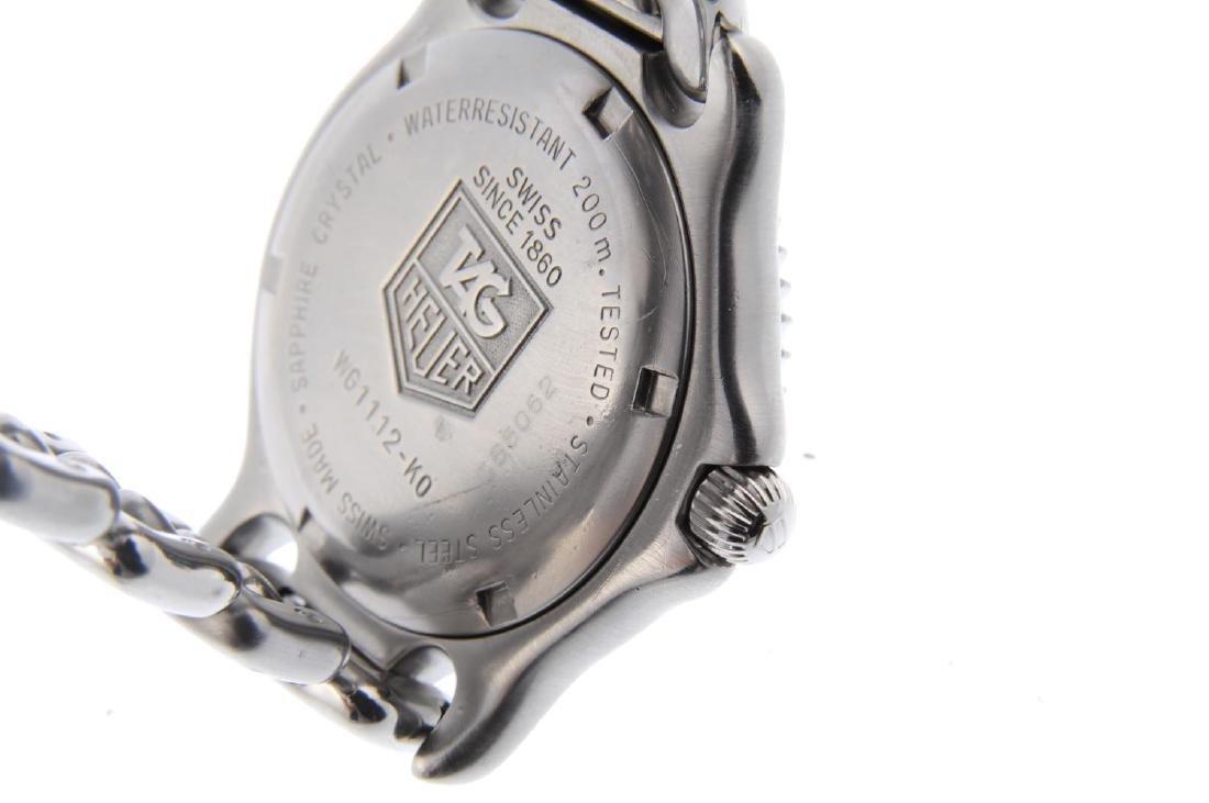 TAG HEUER - a gentleman's S/el bracelet watch. - 3
