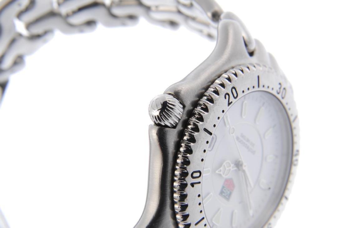 TAG HEUER - a gentleman's S/el bracelet watch. - 4