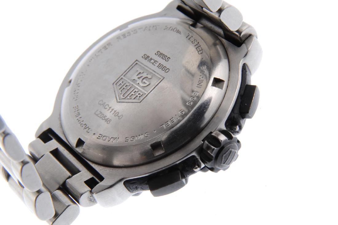 TAG HEUER - a gentleman's Formula 1 chronograph - 3