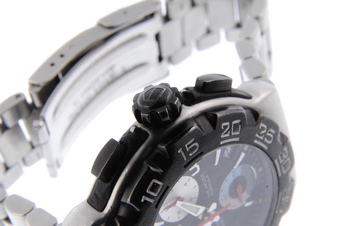 TAG HEUER - a gentleman's Formula 1 chronograph - 4