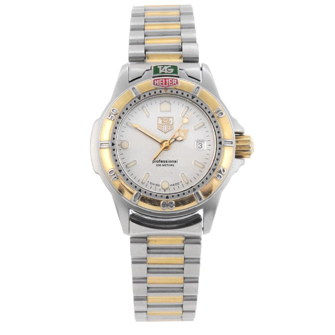 TAG HEUER - a lady's 4000 Series bracelet watch.