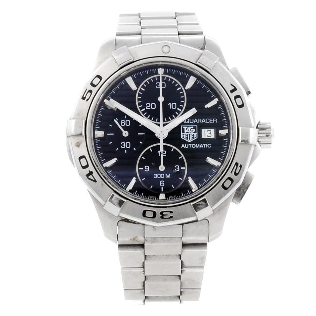 TAG HEUER - a gentleman's Aquaracer chronograph