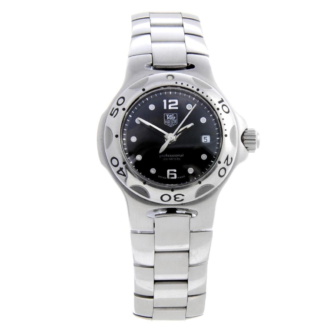 TAG HEUER - a lady's Kirium bracelet watch. Stainless