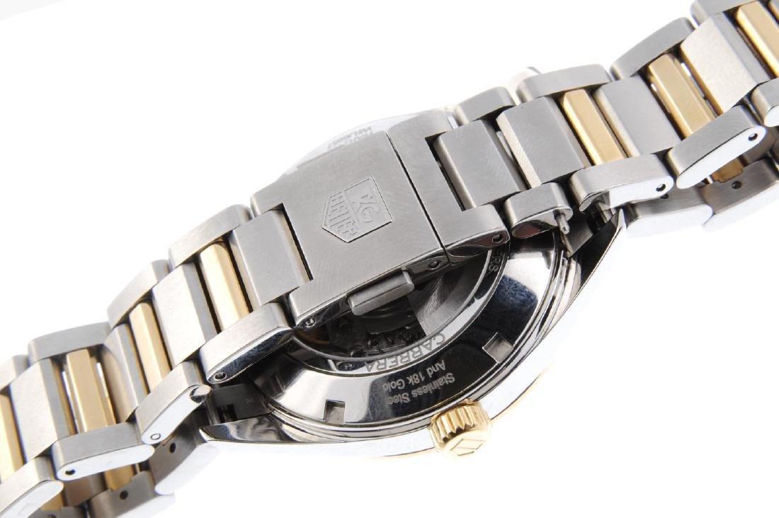 TAG HEUER - a gentleman's Carrera Calibre 5 bracelet - 2