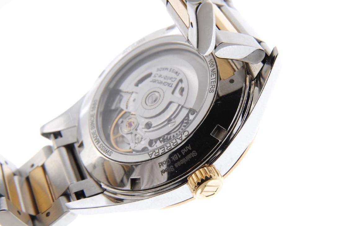 TAG HEUER - a gentleman's Carrera Calibre 5 bracelet - 3