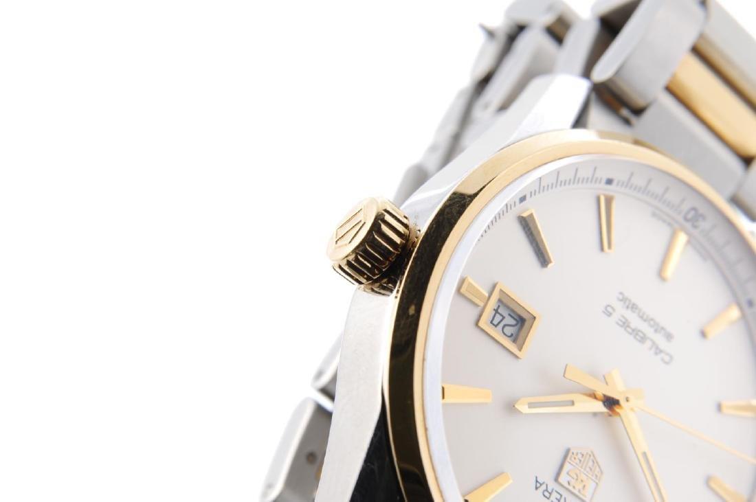 TAG HEUER - a gentleman's Carrera Calibre 5 bracelet - 4