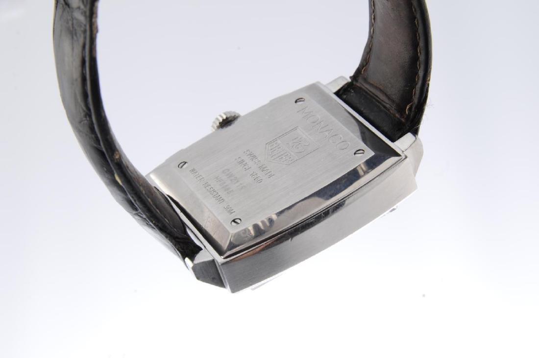 TAG HEUER - a gentleman's Monaco chronograph wrist - 2
