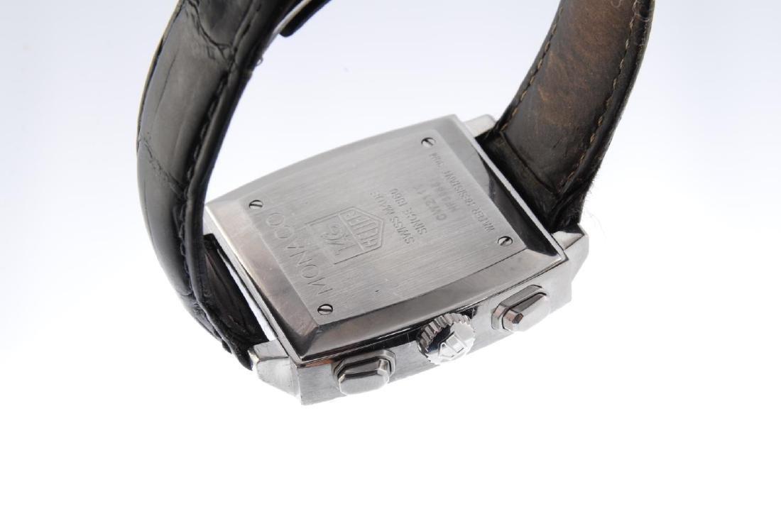 TAG HEUER - a gentleman's Monaco chronograph wrist - 3