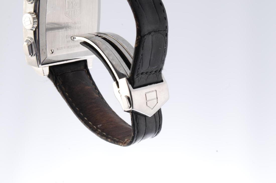 TAG HEUER - a gentleman's Monaco chronograph wrist - 4
