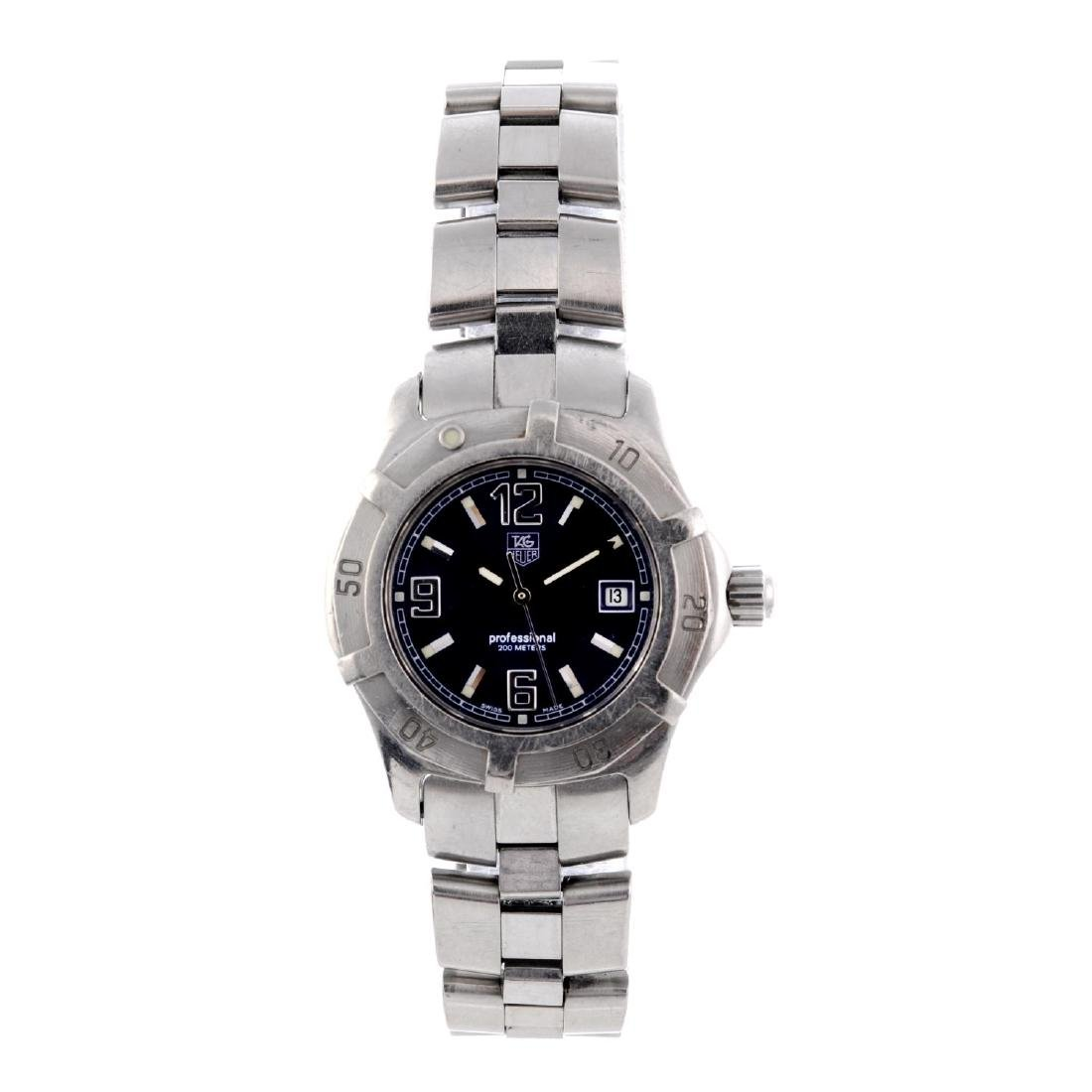 TAG HEUER - a lady's 2000 Exclusive bracelet watch.