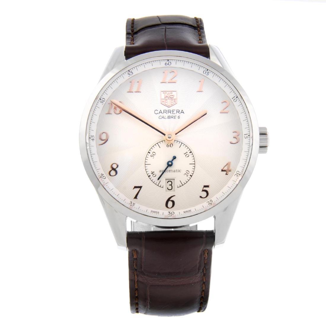 TAG HEUER - a gentleman's Carrera Calibre 6 wrist