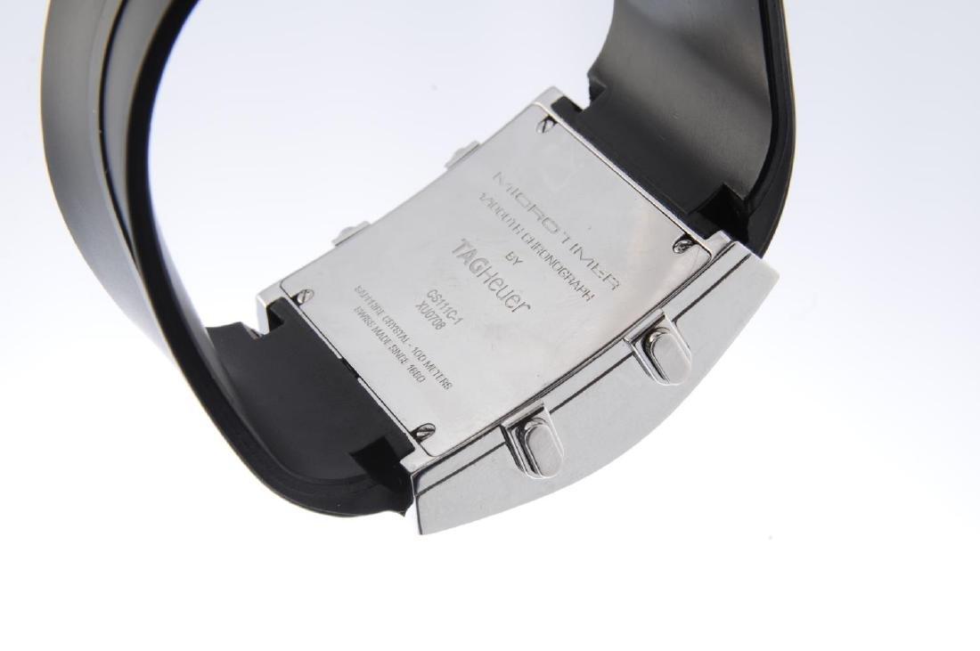 TAG HEUER - a gentleman's MicroTimer wrist watch. - 3