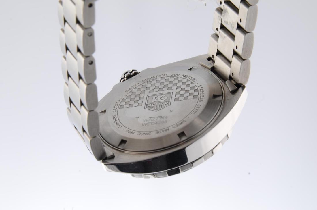 TAG HEUER - a gentleman's Formula 1 Calibre 5 bracelet - 3
