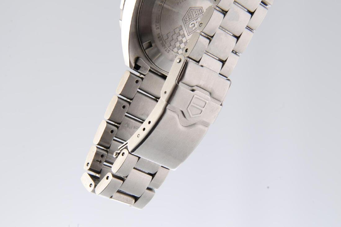 TAG HEUER - a gentleman's Formula 1 Calibre 5 bracelet - 4