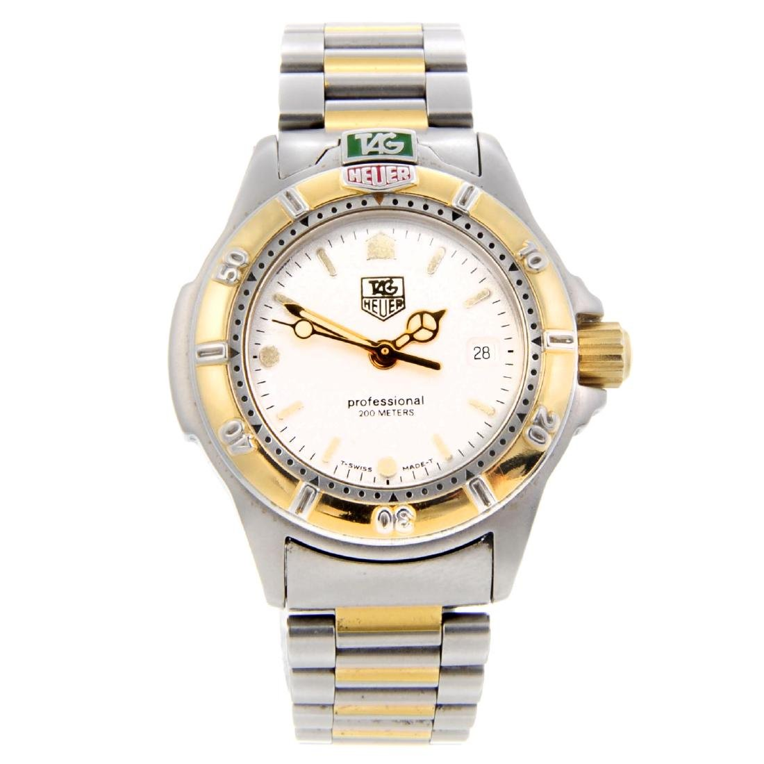 TAG HEUER - a lady's 4000 Series bracelet watch.