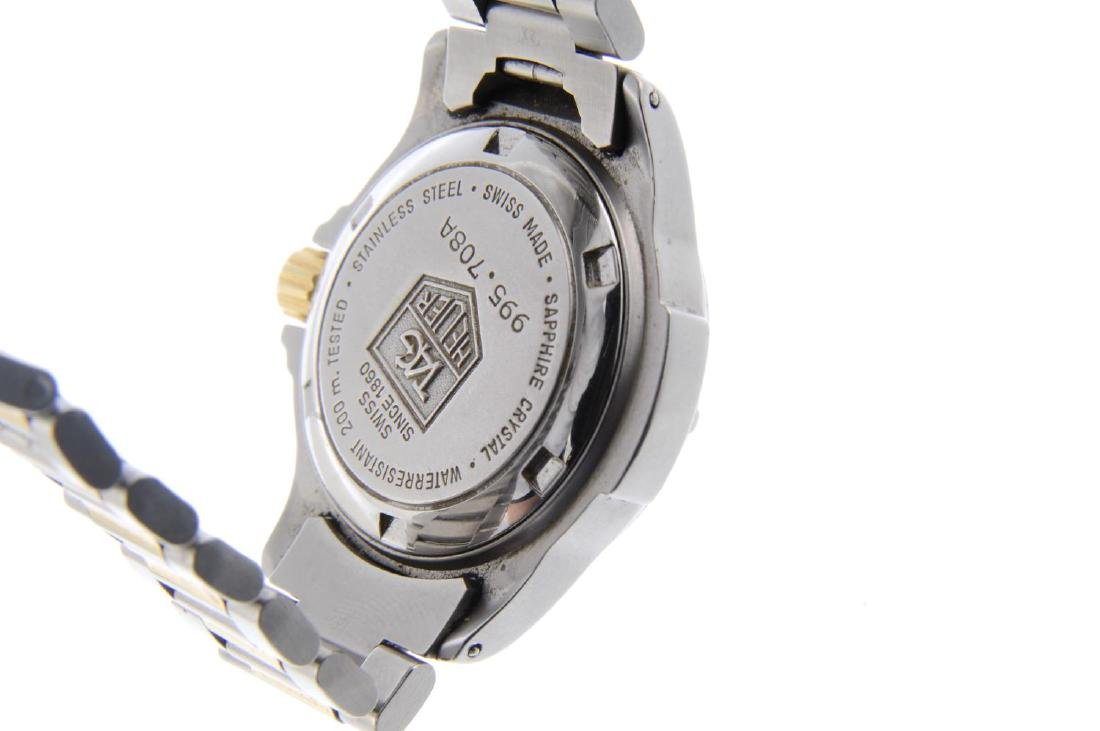 TAG HEUER - a lady's 4000 Series bracelet watch. - 3
