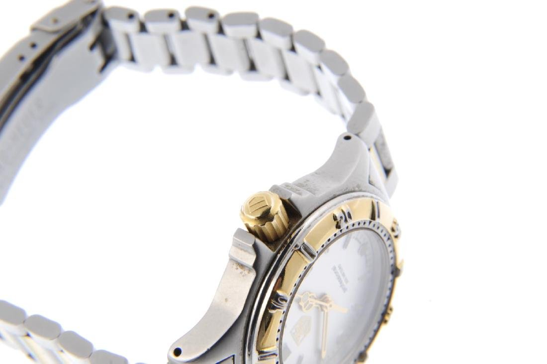 TAG HEUER - a lady's 4000 Series bracelet watch. - 4