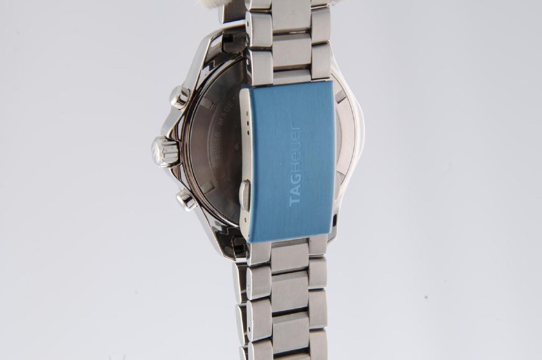 TAG HEUER - a gentleman's Aquaracer chronograph - 4