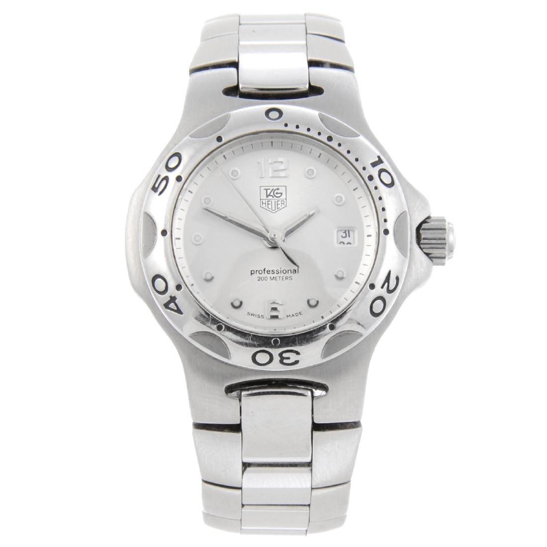 TAG HEUER - a lady's Kirium bracelet watch. Stainless
