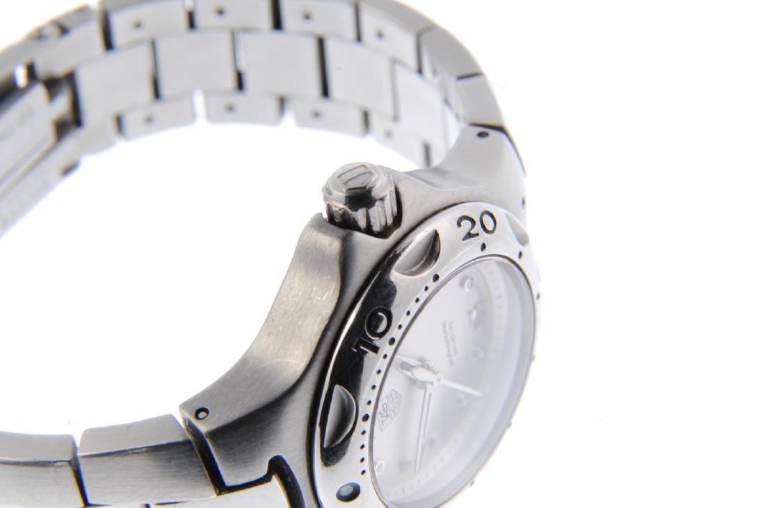 TAG HEUER - a lady's Kirium bracelet watch. Stainless - 4