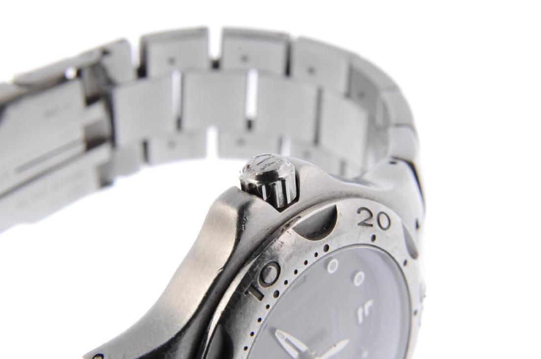 TAG HEUER - a gentleman's Kirium bracelet watch. - 4