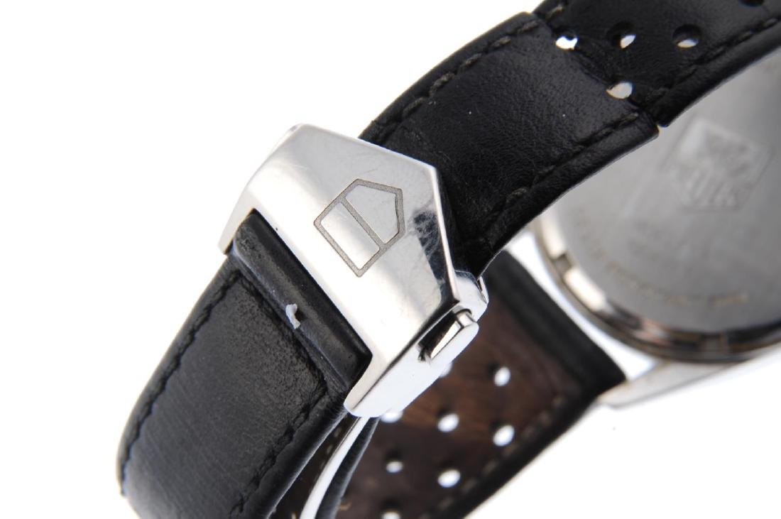TAG HEUER - a gentleman's Carrera GMT wrist watch. - 2