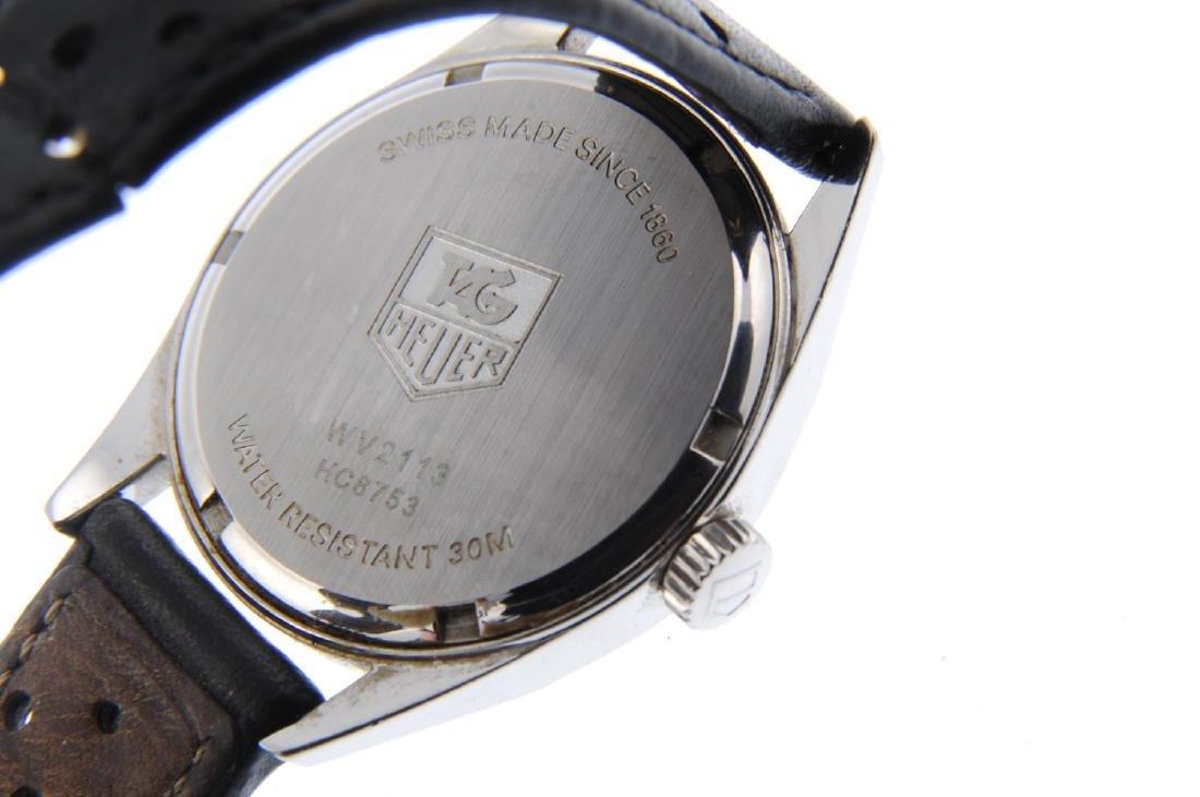 TAG HEUER - a gentleman's Carrera GMT wrist watch. - 3