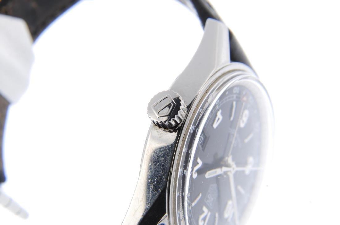 TAG HEUER - a gentleman's Carrera GMT wrist watch. - 4