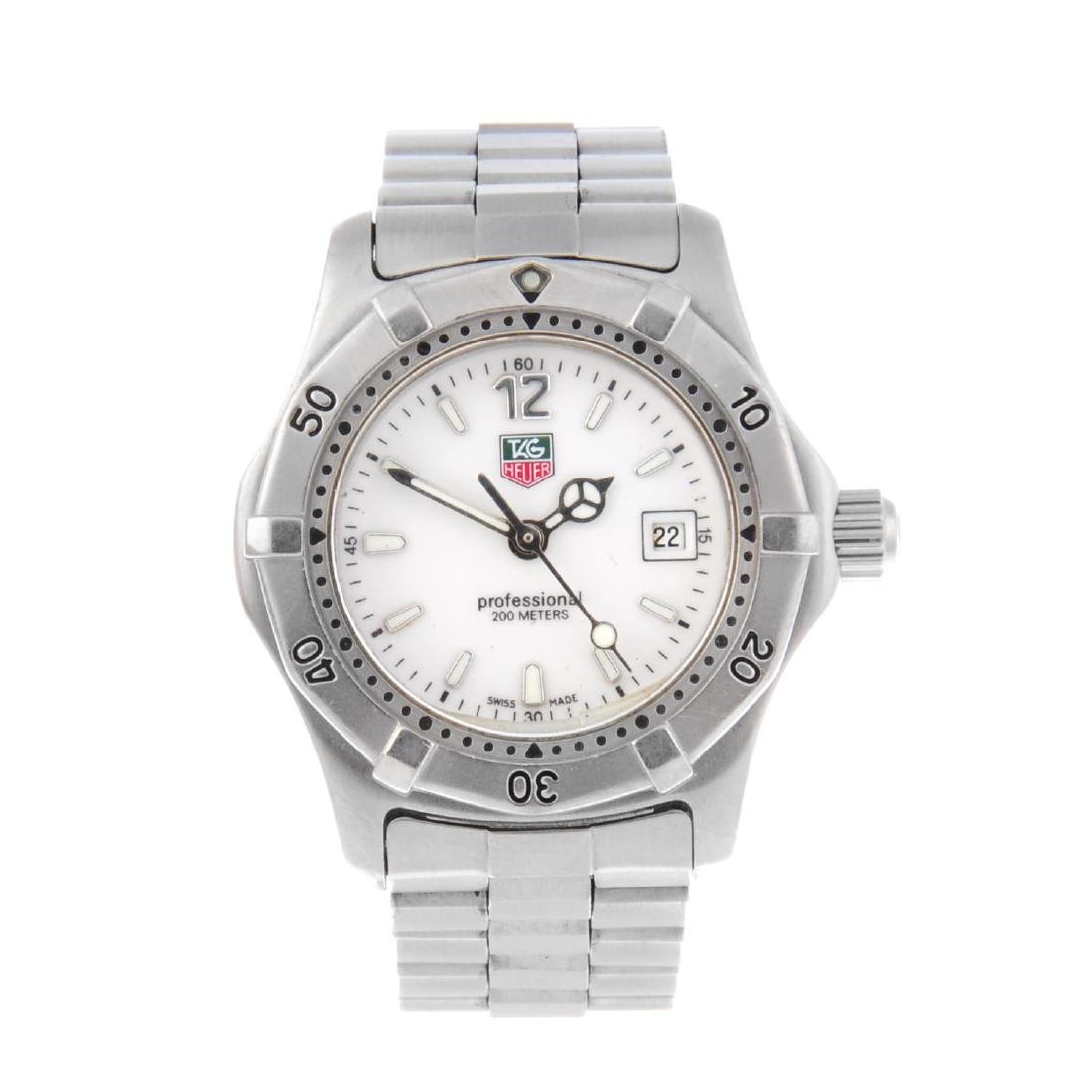TAG HEUER - a lady's 2000 Series bracelet watch.
