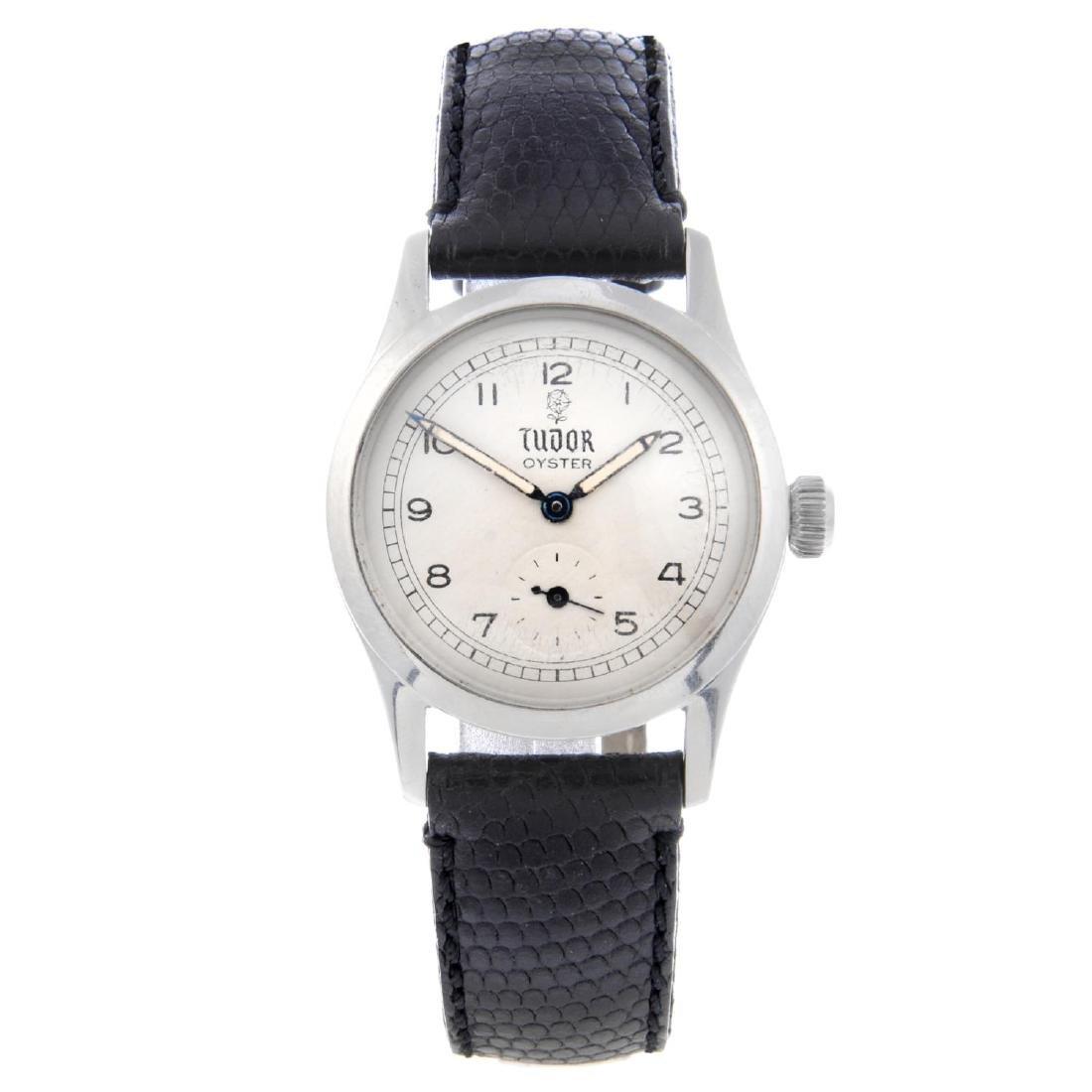 TUDOR - a gentleman's Oyster wrist watch. Stainless