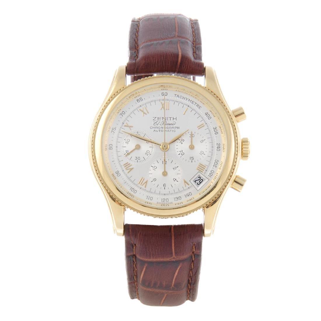 ZENITH - a gentleman's El Primero chronograph wrist