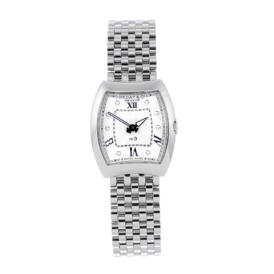 BEDAT & CO. - a lady's No. 3 bracelet watch. Stainless