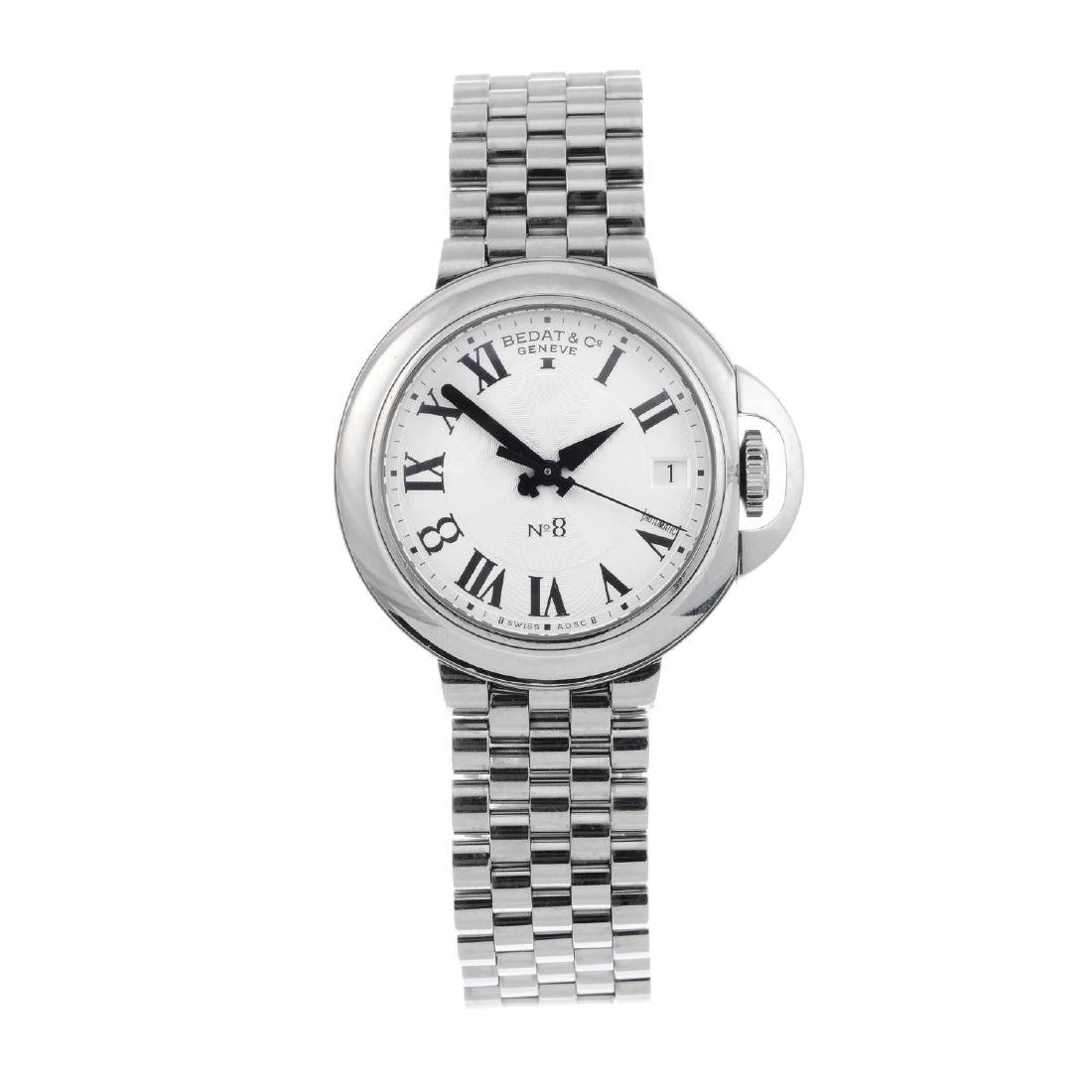 BEDAT & CO. - a lady's No. 8 bracelet watch. Stainless