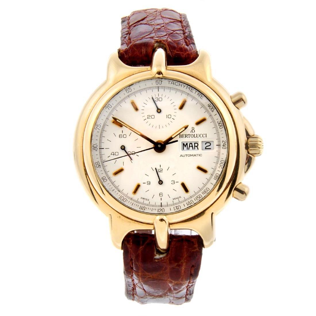 BERTOLUCCI - a gentleman's Pulchra chronograph wrist