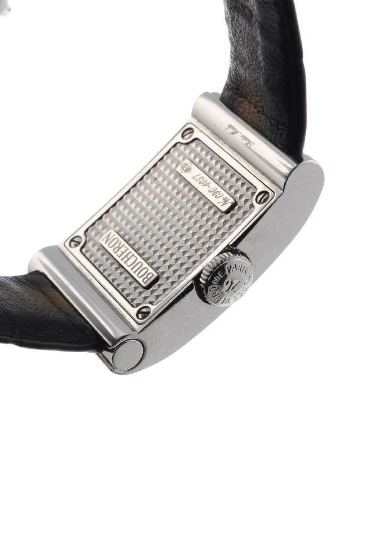 BOUCHERON - a lady's wrist watch. Stainless steel - 3