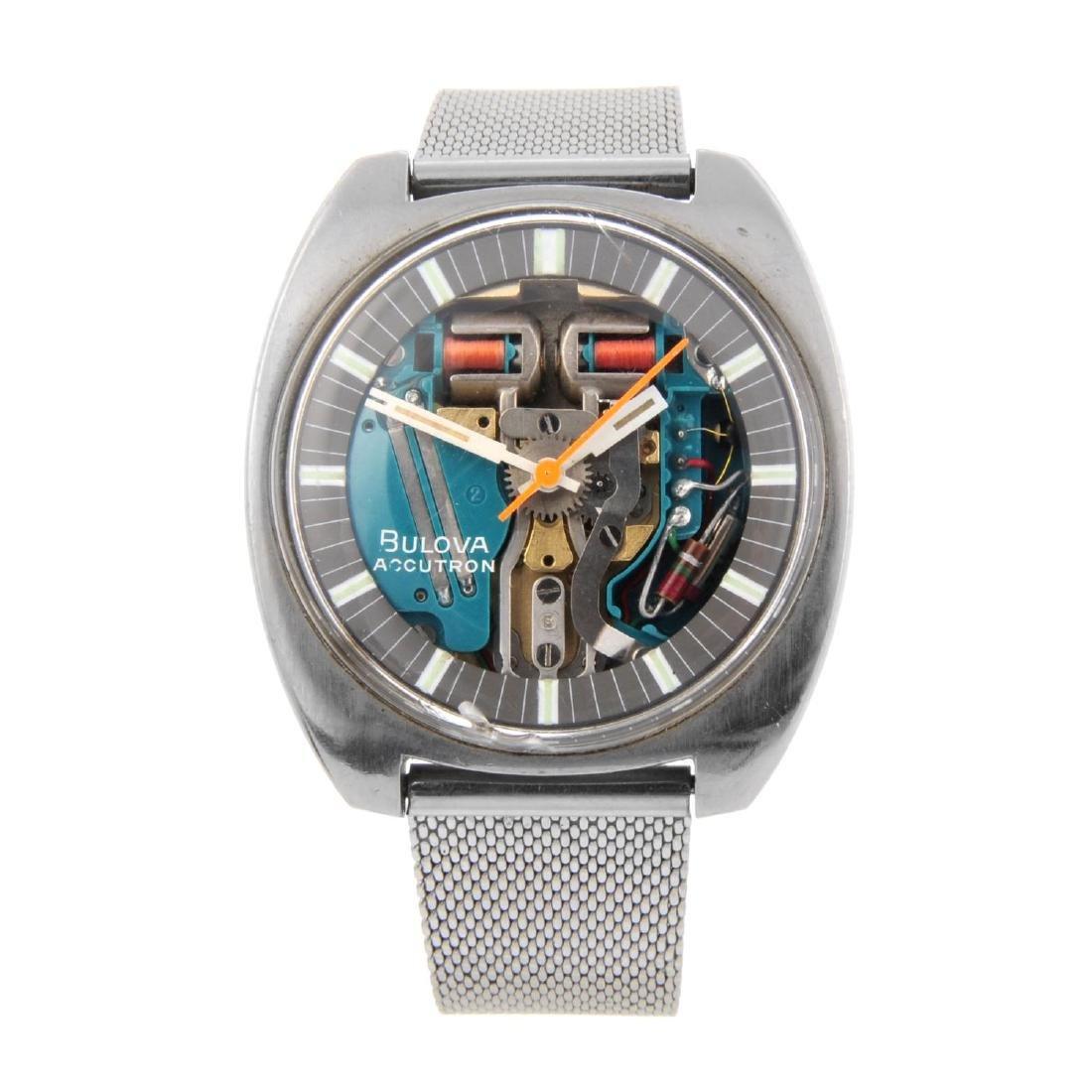 BULOVA - a gentleman's Accutron Spaceview bracelet
