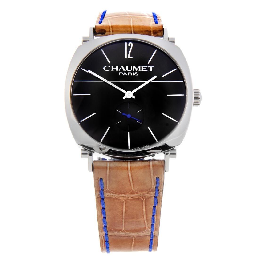 CHAUMET - a gentleman's Dandy wrist watch. Stainless