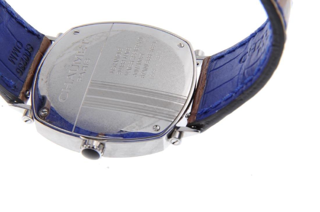 CHAUMET - a gentleman's Dandy wrist watch. Stainless - 3