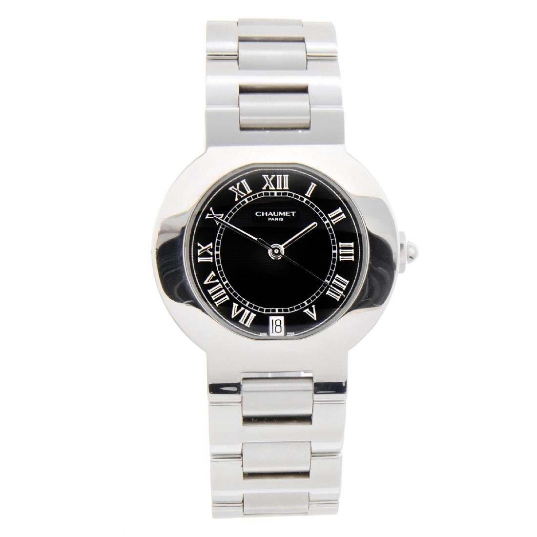 CHAUMET - a lady's bracelet watch. Stainless steel