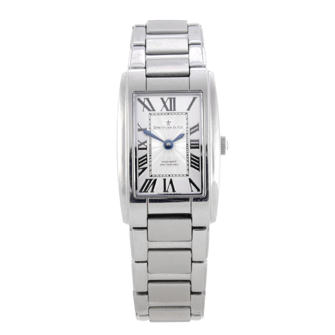 DREYFUSS & CO. - a lady's bracelet watch. Stainless
