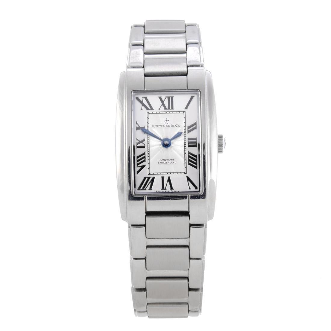 DREYFUSS & CO. - a lady's bracelet watch. Stainless