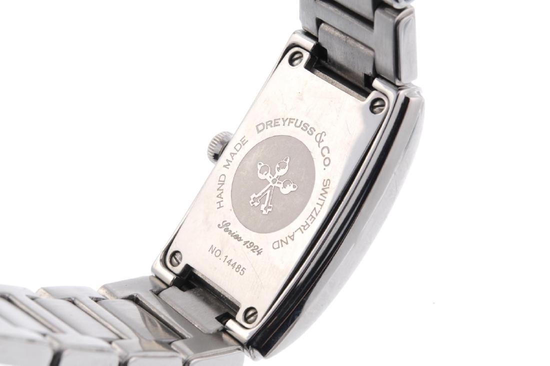 DREYFUSS & CO. - a lady's bracelet watch. Stainless - 4
