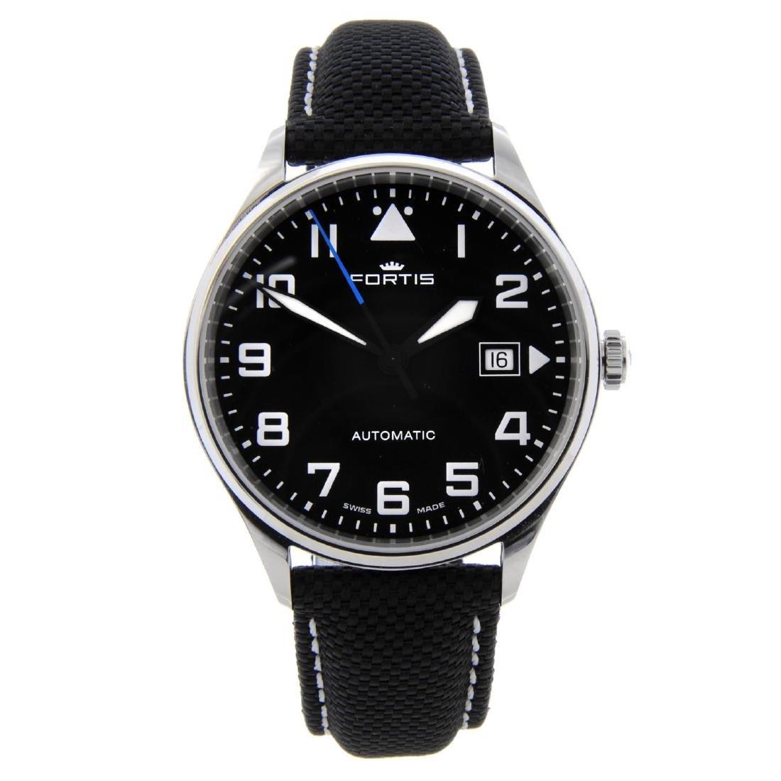 FORTIS - a gentleman's Pilot Classic wrist watch.