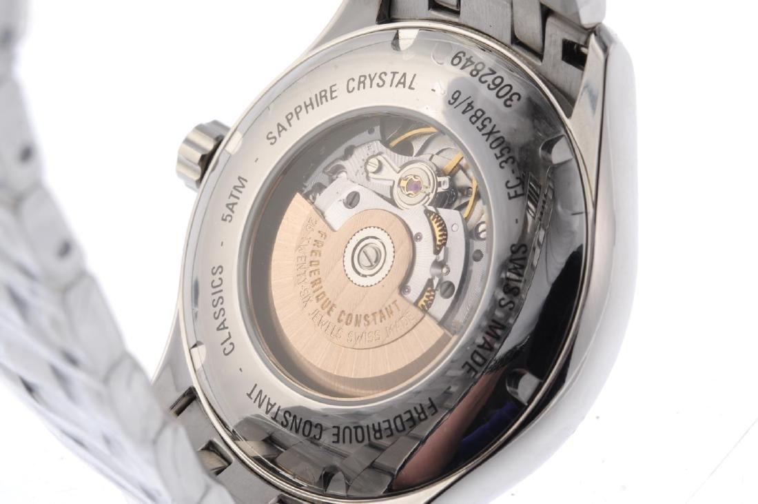 FREDERIQUE CONSTANT - a gentleman's Classics Index GMT - 4
