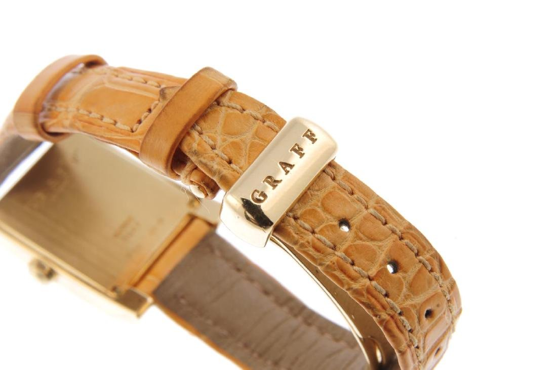 GRAFF - a lady's wrist watch. 18ct yellow gold case. - 2